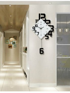 Swing Modern Design Nordic Style Wall Clocks