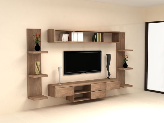 Cool TV Wall Units Decor & Designs