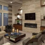 Trendy formal living room