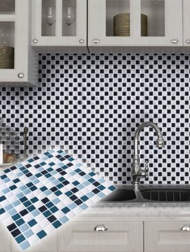 Mosaic Tile 3D Wall Sticker